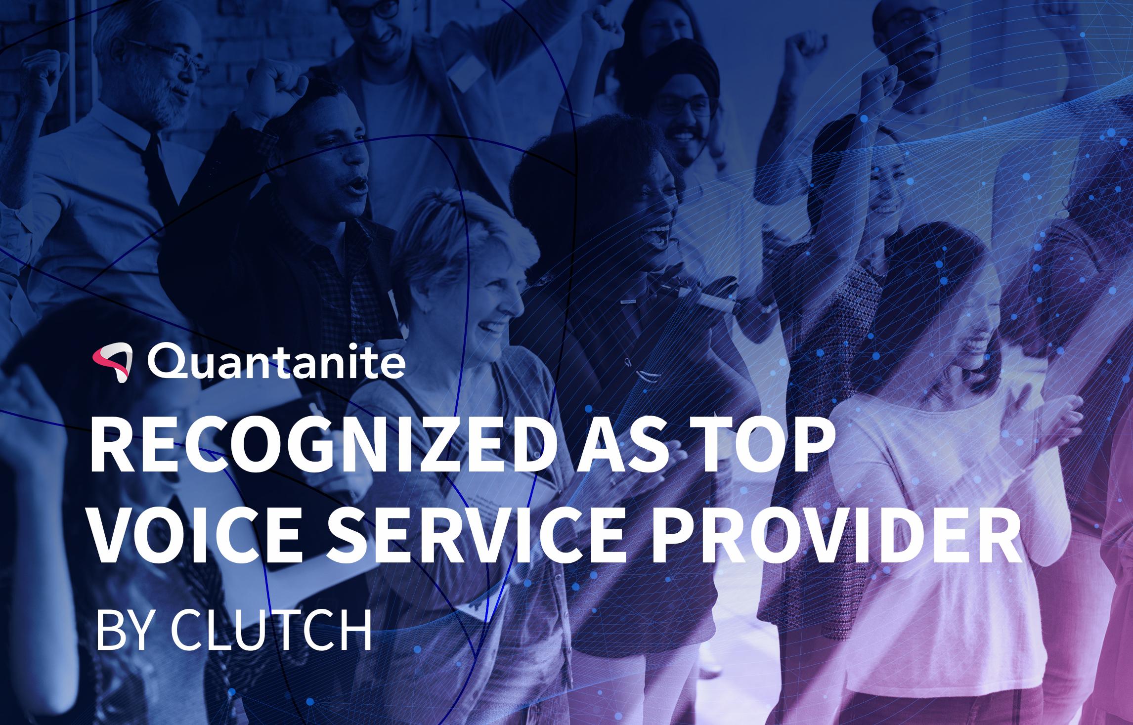 Quantanite recognized as top service provider